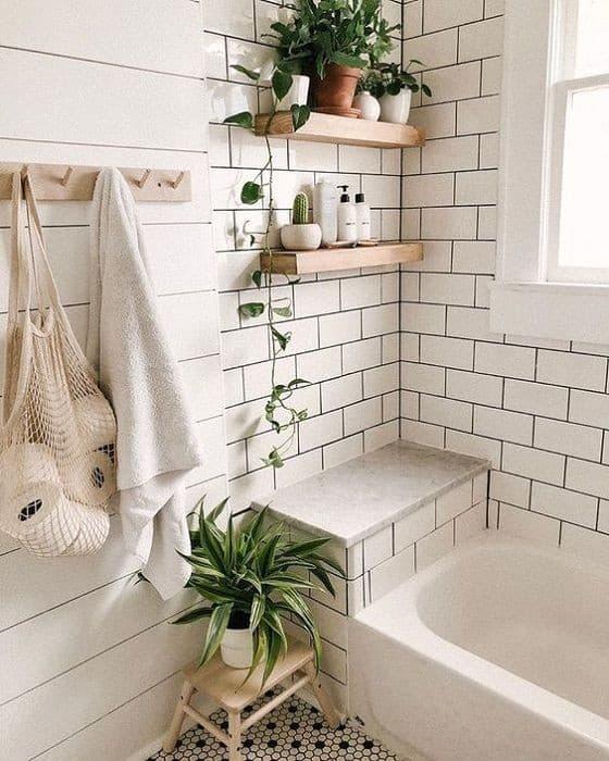 """alt=""""banheiro spa plantas"""""""